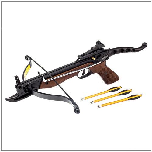 EK Archery Cobra Aluminium Pistol Crossbow Wood Camo | Archery Bows & Arrows