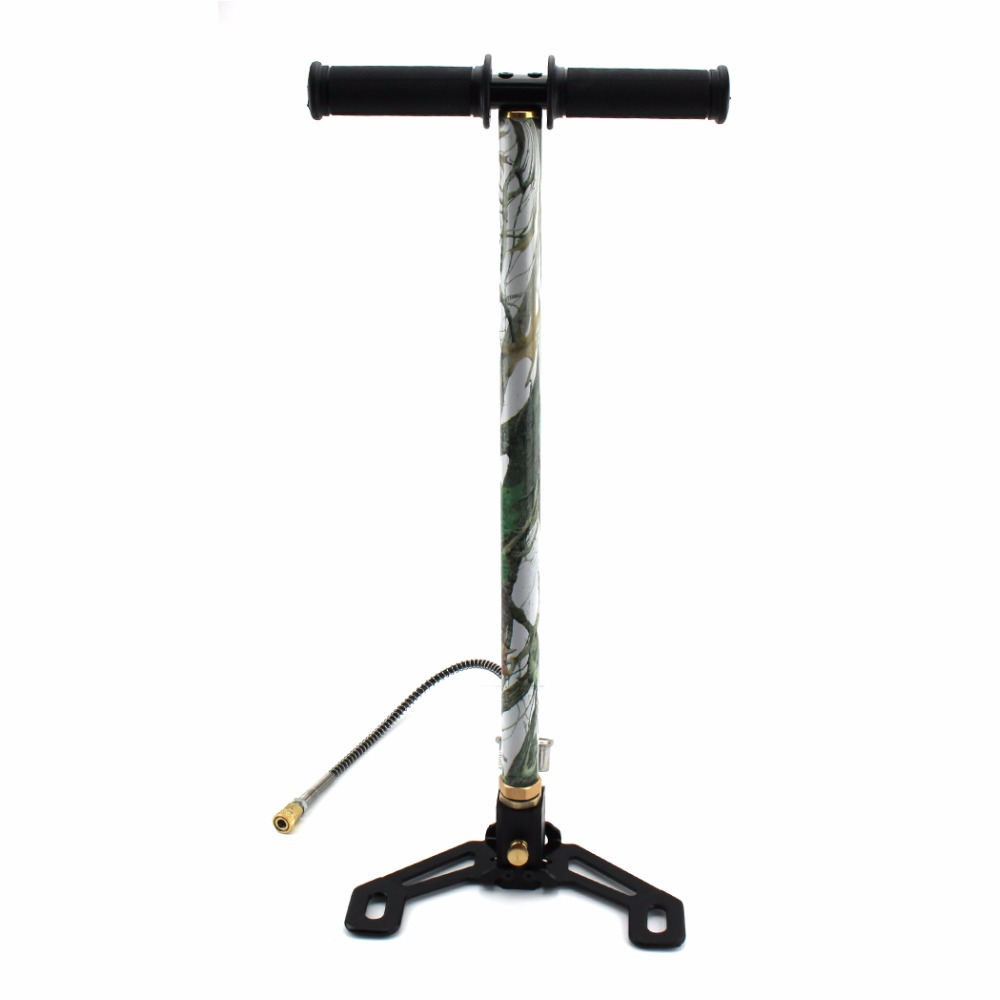 4500psi High Pressure PCP Hand Operated Air pump Hunting 3 Stage Camo