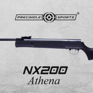 Precihole NX200 Athena Black Finish 0.177Cal (4.5mm) Airgun