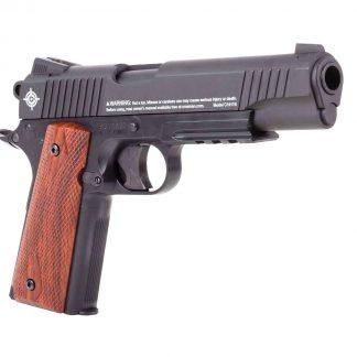 Crosman 1911 CO2 Pellet Pistol, Matte Black