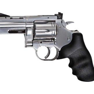 ASG Dan Wesson 715 2.5 CO2 Pellet Revolver, Silver 0.177 Cal