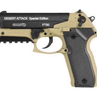 Gamo PT-80 Desert Attack CO2 Pellet Pistol 0.177 Cal