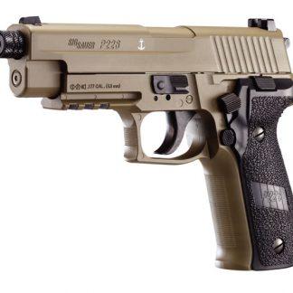 SIG Sauer P226 CO2 Pellet Pistol, Dark Earth 0.177 Cal (4.5mm)